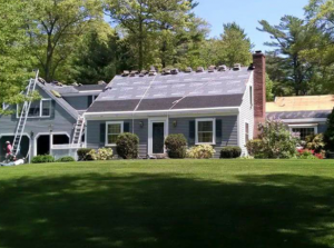 roof replacement in progress – southshoreroofers.com